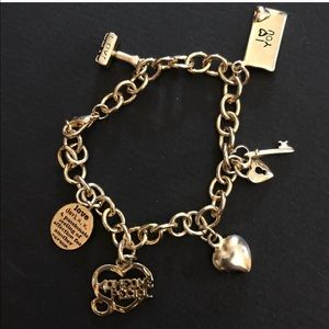 Vintage Sweetheart Charm Bracelet